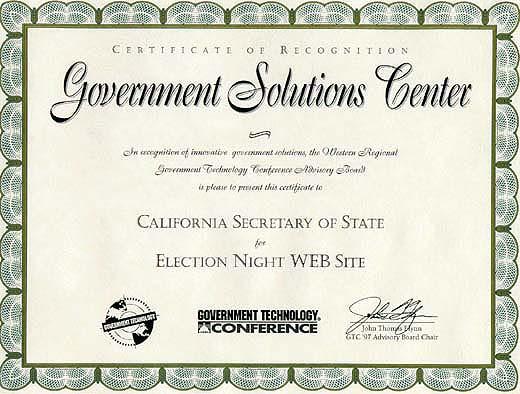 GTC Award